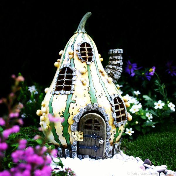 Maison de fées miniature Jolie Courge Fairy Garden