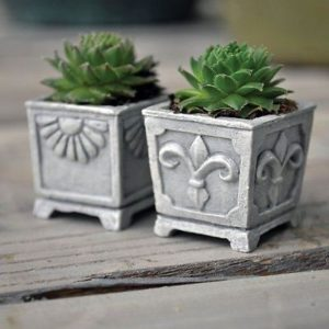 Jardinières pour mini jardin