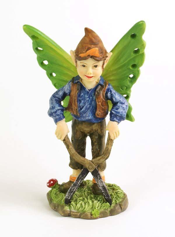 Figurine Miniature Elfe Jardinier