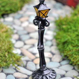 Lampadaire pour mini jardin