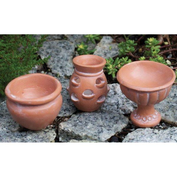 Miniatures Pots pour mini jardin