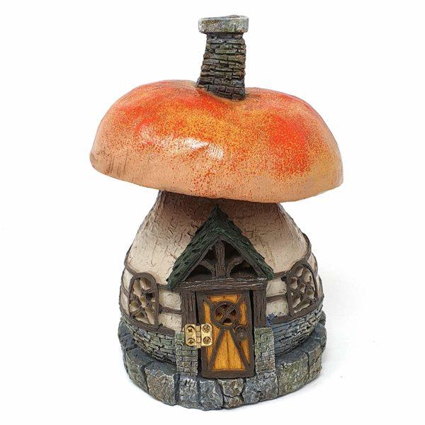 Maison de fée champignon des bois