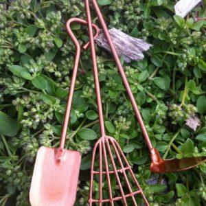 Outils pour mini jardin