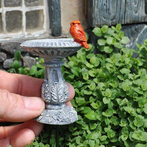 Bain d'Oiseaux pour mini jardin