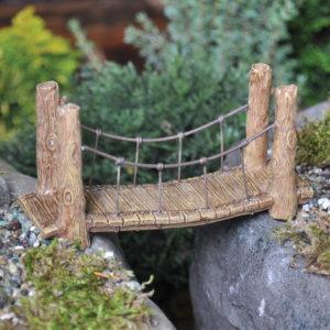 Pont miniature pour terrarium