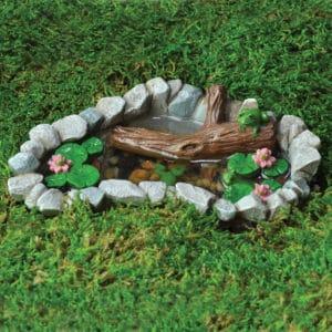 Accessoires miniatures pour décoration de mini jardin