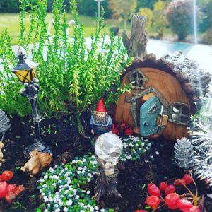Fairy Garden Noël Buche