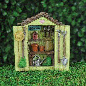 Accessoire miniature cabane des fées mini jardin