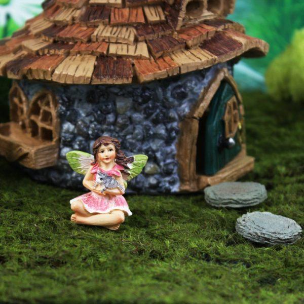 Figurine fée bella mini Fairy Garden