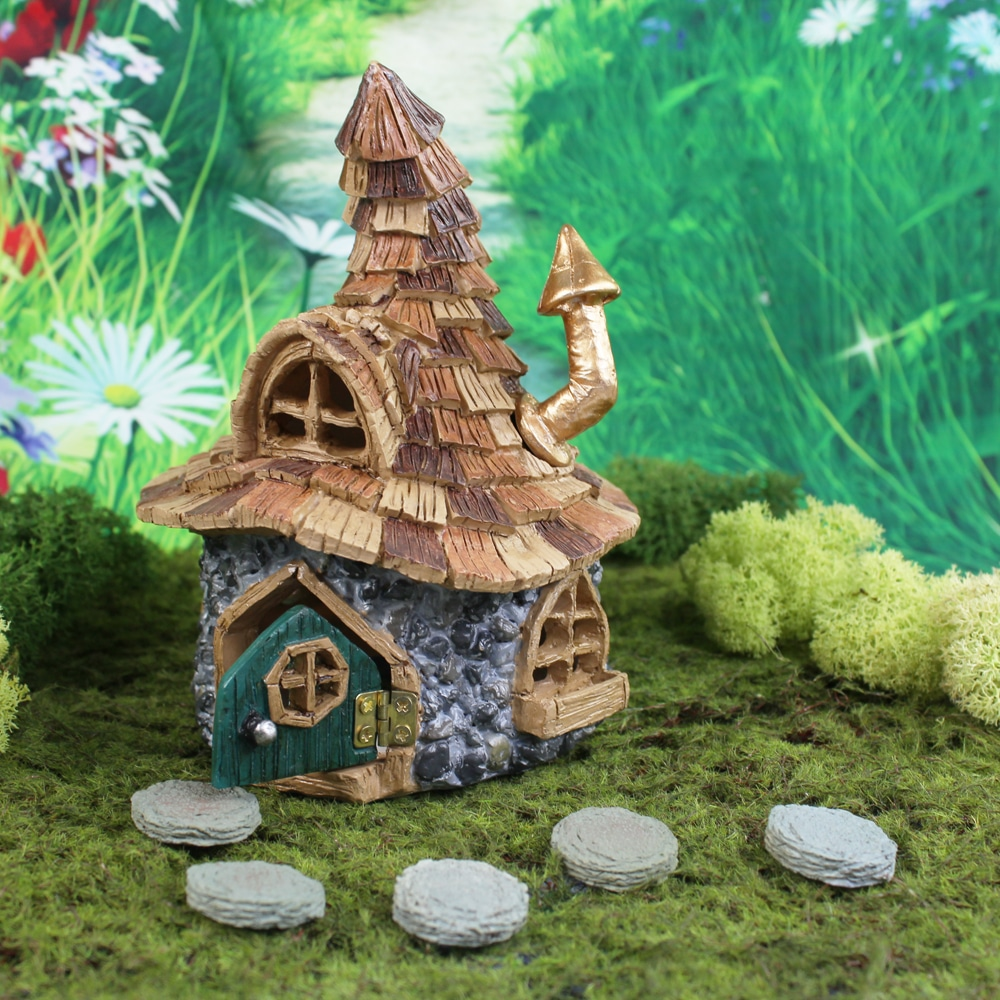 maison dobby fairy garden. Black Bedroom Furniture Sets. Home Design Ideas