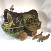 Roulotte Gypsy Jardin de fées