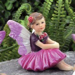 Micro fée pour mini jardin et terrarium