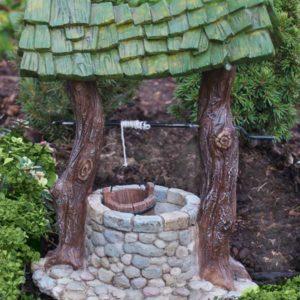 Puits magique accessoire miniature pour mini jardin et jardin de fées