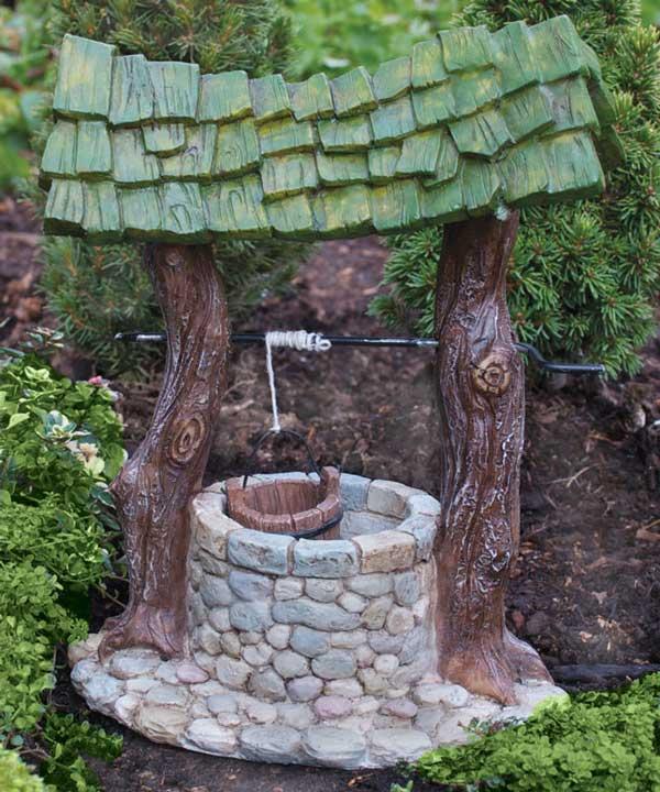 puits magique fairy garden. Black Bedroom Furniture Sets. Home Design Ideas