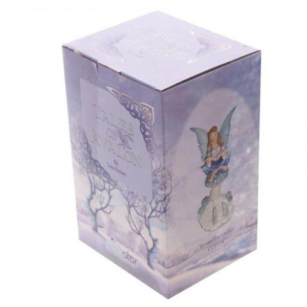 Figurine Fée Conteuse de l'Hiver boîte