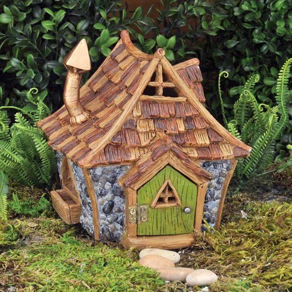 Maison de fées chalet miniature