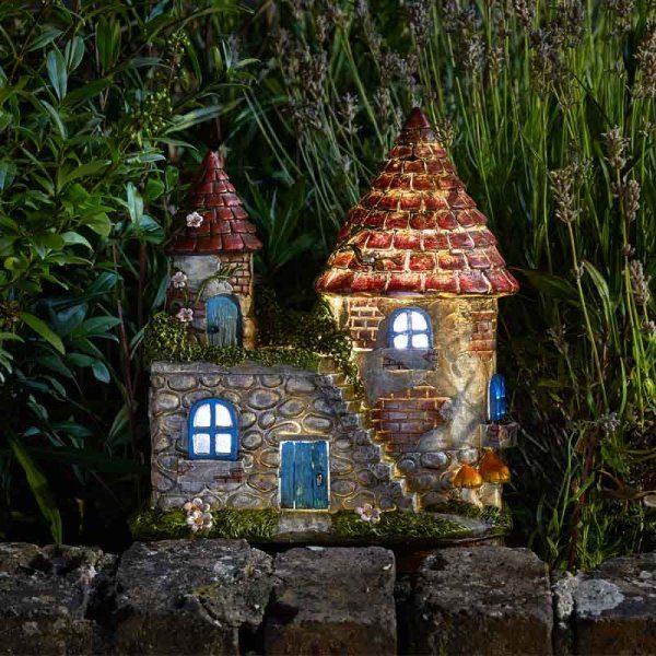 Maison de fées château elfique