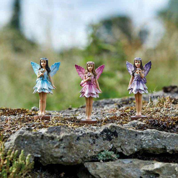 Figurines fées des forêts socle magnétique