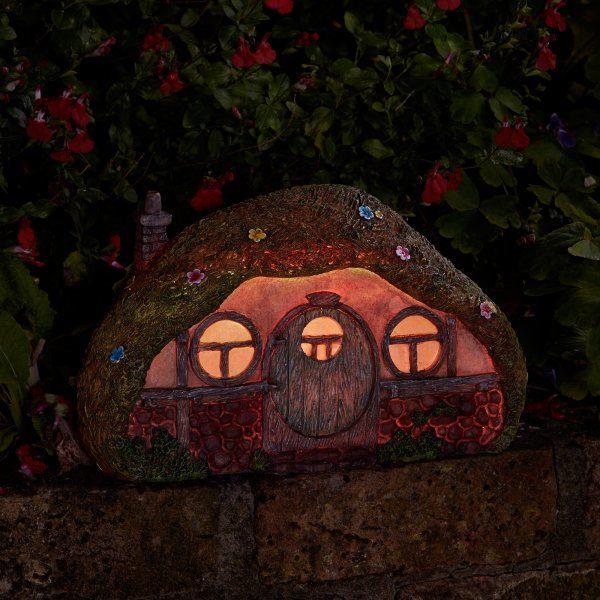Maison de hobbit accessoire jardin