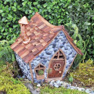 Maison gnome décoration jardin de fées