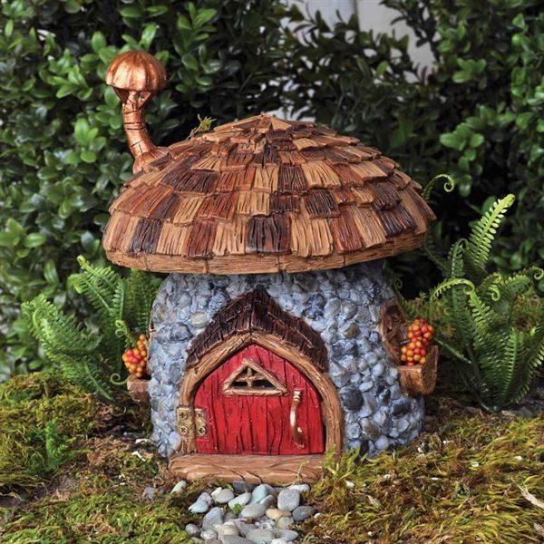 Maison de gnome miniature jardin de fées