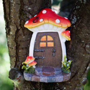 Porte de fée lutin champignon