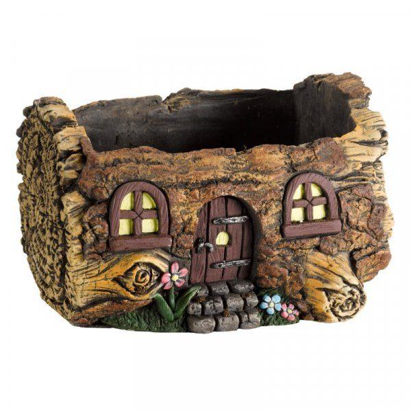 Jardinière pixie pot original en maison de fées et lutins