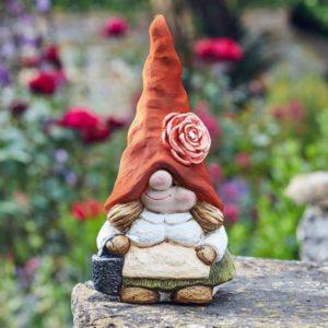 Figurine naine de jardin en résine H29